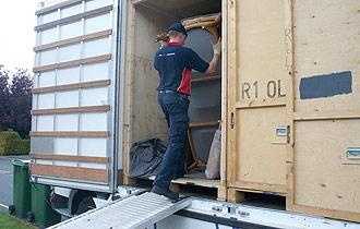 britannia robbins containerised storage loading